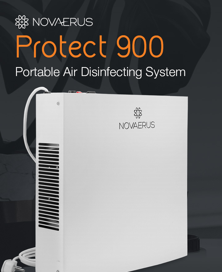 Novaerus Protect 900 Portal Air Disinfecting System